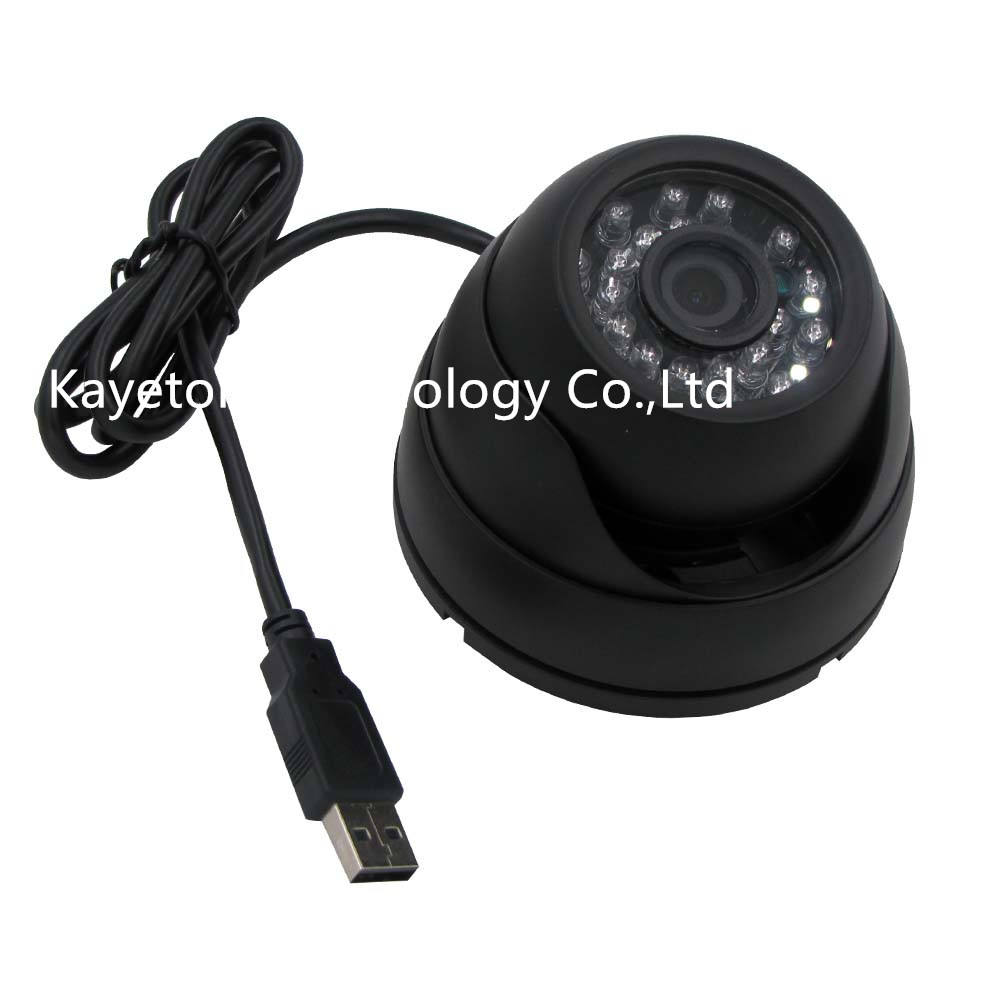 1.3MP 960 P IR Cut IR Day Led Night Vision Aptina AR0130 Webcam OTG UTV Alumínio Caso Vandal-Proof Dome Uso Interno Câmera USB