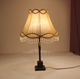 Brown color soft back fabric lamp shades