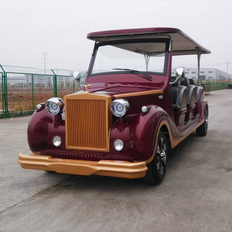 Electric Vintage/Classic Sightseeing Car with CE