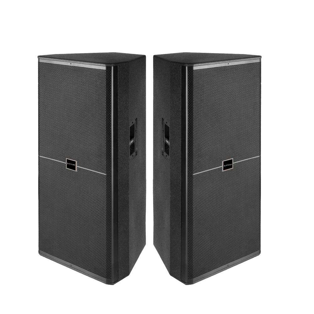 "230048 neodymium Dual 2 way 15"" inch 1000 Watt professional light-weight stage monitor subwoofer and pa audio speaker"