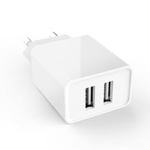 ce smart charger 12W 2.4 amp dual usb wall charger