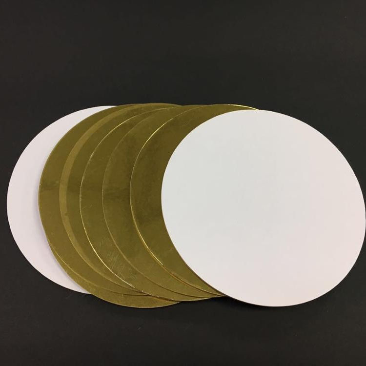 Round Golden Cake Board 2.0mm