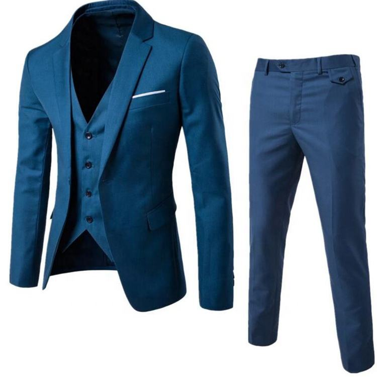 New Arrival wool fabric 100% men stylish blazer high quality pant coat design men wedding suits