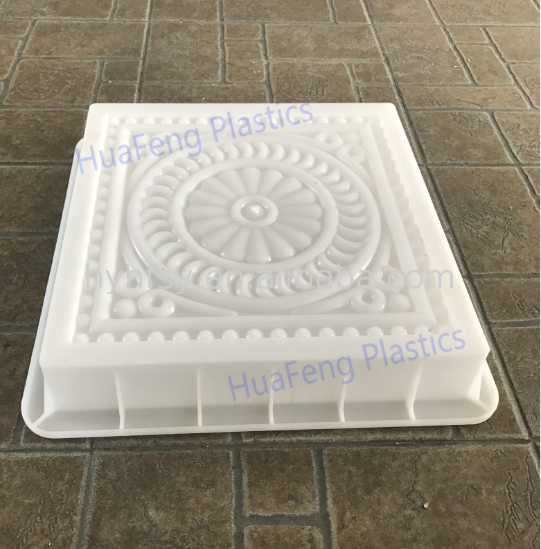 Plastic moulds for pavers molding