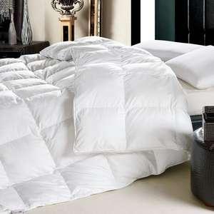 High Quality Duvet / Comforter King Size Bed Ultralight Cotton 90% Goose Down Quilt