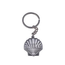 custom design shell shape keychain/key chain/custom key chain