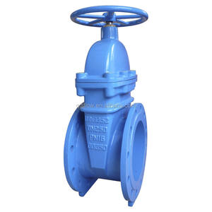 DIN F4 PN10 DN1200 Gate Valve with Gear Operation