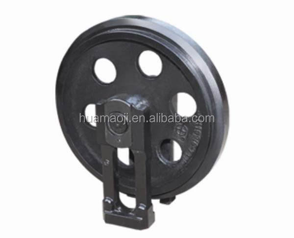 PC50 , PC50UU-1 Excavator Undercarriage Parts Excavator Idler Assembly