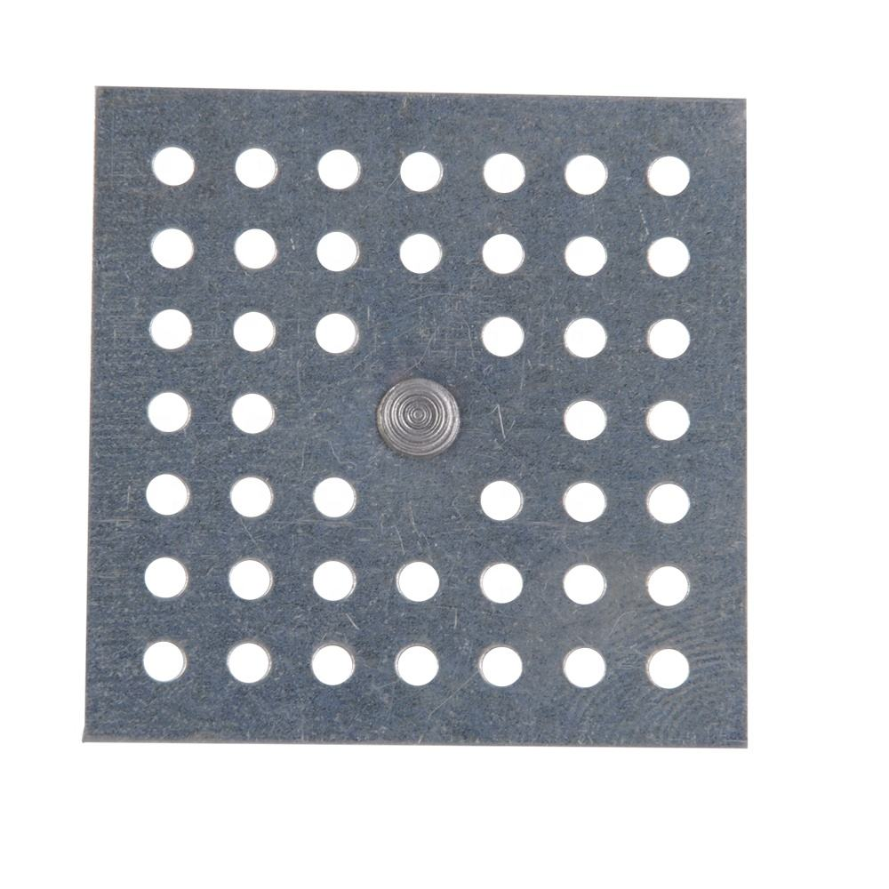 Insulation Perforated Base Free Sample Aluminum Metal Perforated Base Pins To Metal