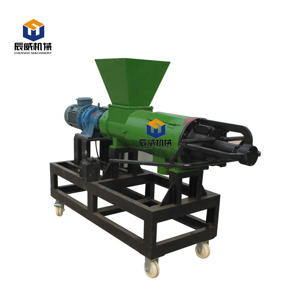 CW Brand screw press cow manure dewater machine/solid liquid separator/agricultural equipment
