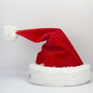 Christmas gifts dancing santa hat with music