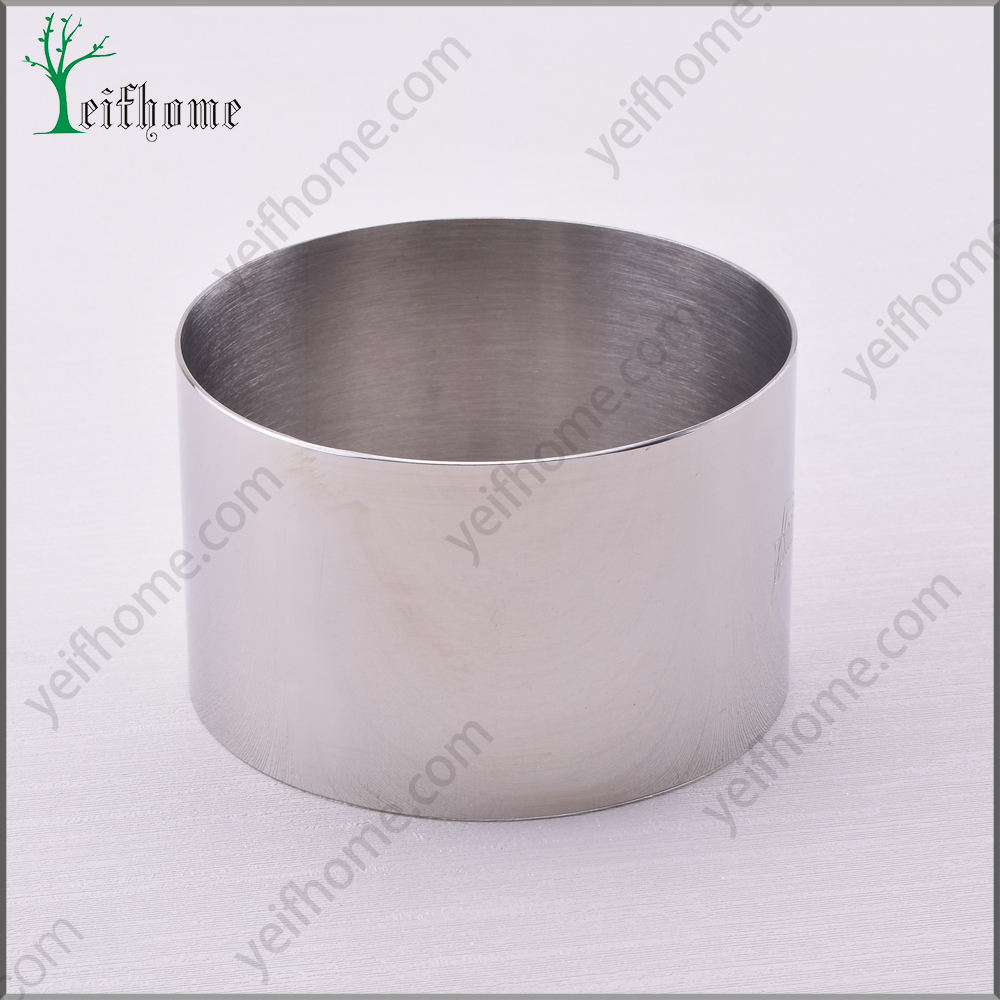 Round Shaped Stainless Steel Cake Ring / Mousse Ring / Baking Mold