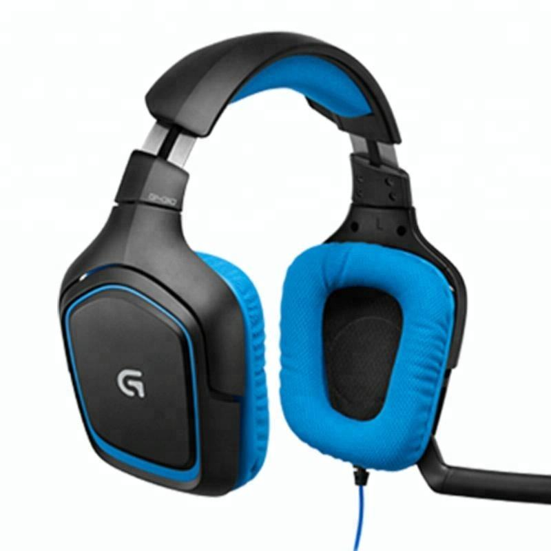 Noise isolating Gaming Headset Logitech G430 7.1 Surround Sound Hi-Fi Mic Dota 2 Earphones Headphones PC Computer