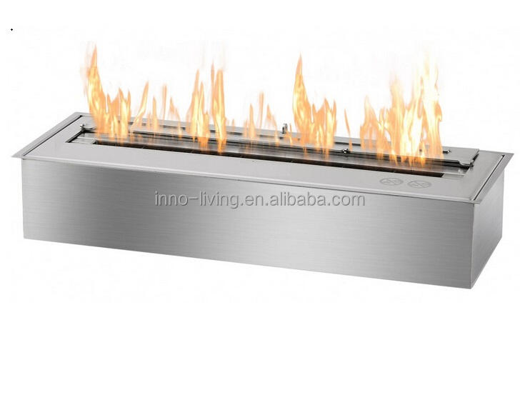 on sale fireplace burner ethanol ILFB-24 stainless steel metal outdoor fireplace