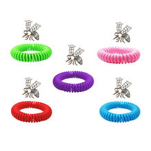 100% natural Citronella band anti mosquito band for children and adults