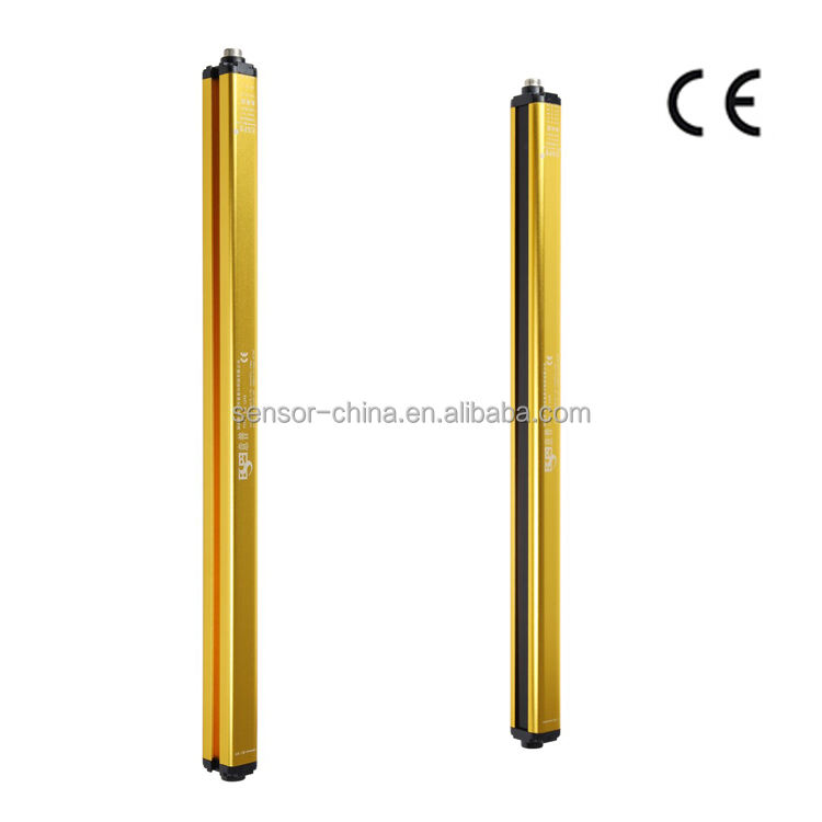3 years guarantee 4 beam 40mm beam pitch safety light curtain sensors