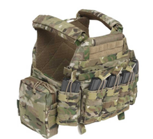Camouflage Tactical  Ballistic vest plate carrier with pouch