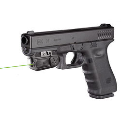 LASERSPEED Compact Green Laser Sight and Flashlight Combo Self Defense Laser