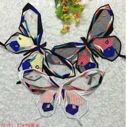 Fast delivery Butterfly iron and sewing patches embroidery