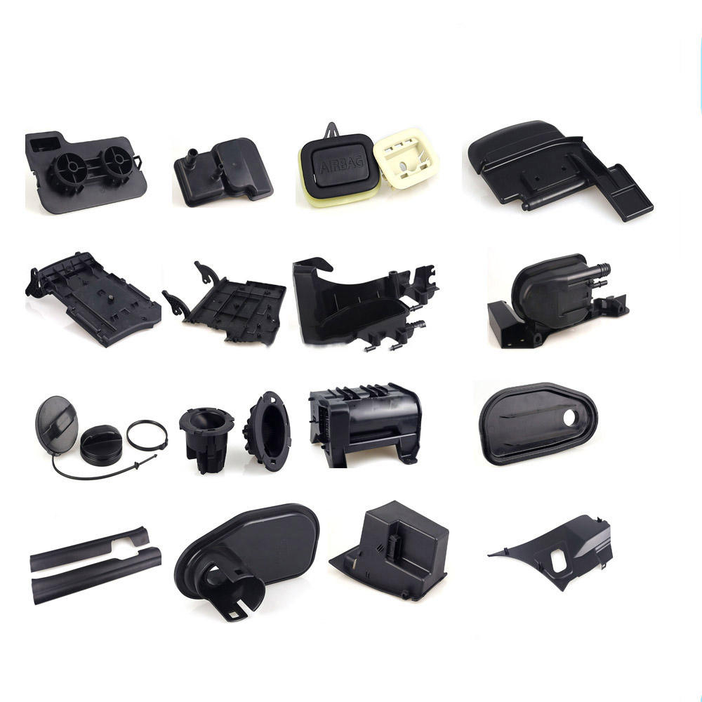 Custom Design HDPE,POM,ABS,Acrylic,PVC,PA,PP plastic injection auto spare parts car accessories