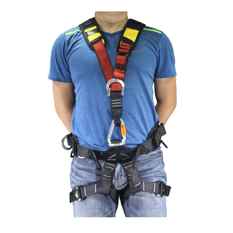 Intop professional customized high quality full body safety climbing harness belt for sale
