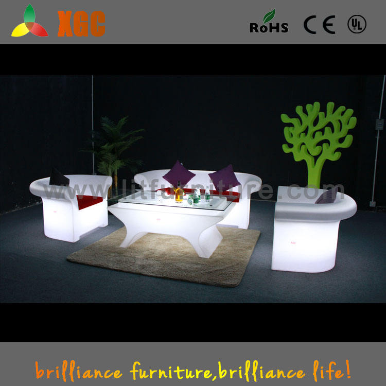 used hotel lobby furniture, second hand hotel furniture, illuminated hotel sofa with color changeable led lights
