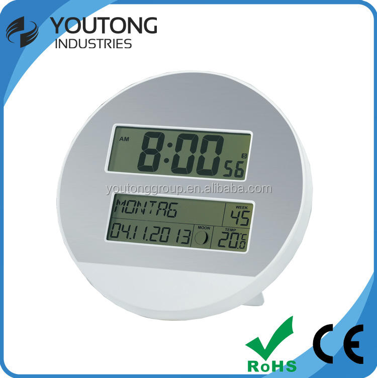 Wholesale digital wall clock , plastic desk clocks with calendars