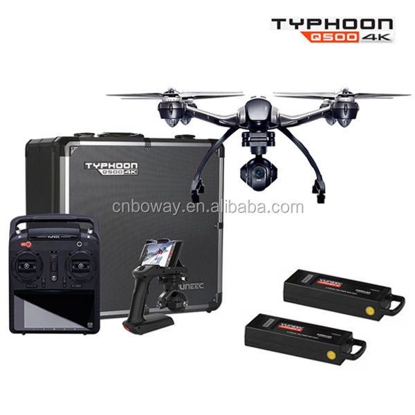 Typhoon Q500 4 K Quadcopter RC Drone met Handheld CGO SteadyGrip Gimbal, Yuneec Typhoon