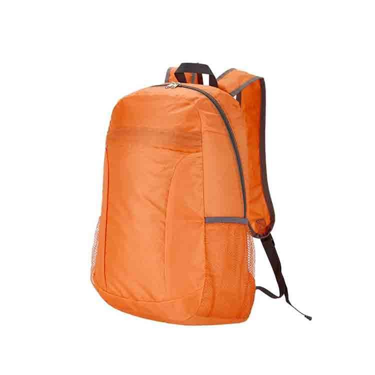 Durable casual zipper poliéster económico souvenir <span class=keywords><strong>mochila</strong></span> logotipo personalizado
