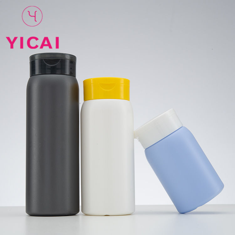 Capacity Customization Loose Talcum Packing Protein Powder Plastic Bottle