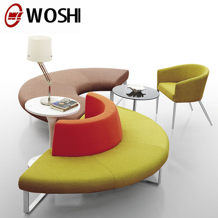 Multiple Colors Fabric office Modular sofa / contemporary BREAKOUT furniture seating