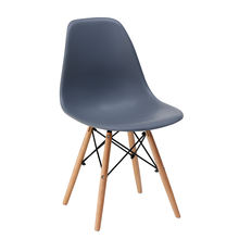 Fashion creative coffee chair modern minimalist household plastic dining chair backrest leisure computer desk stool