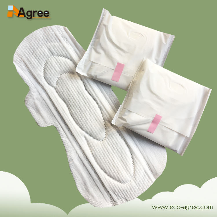 Different sizes breathable comfort lady soft sanitary pad