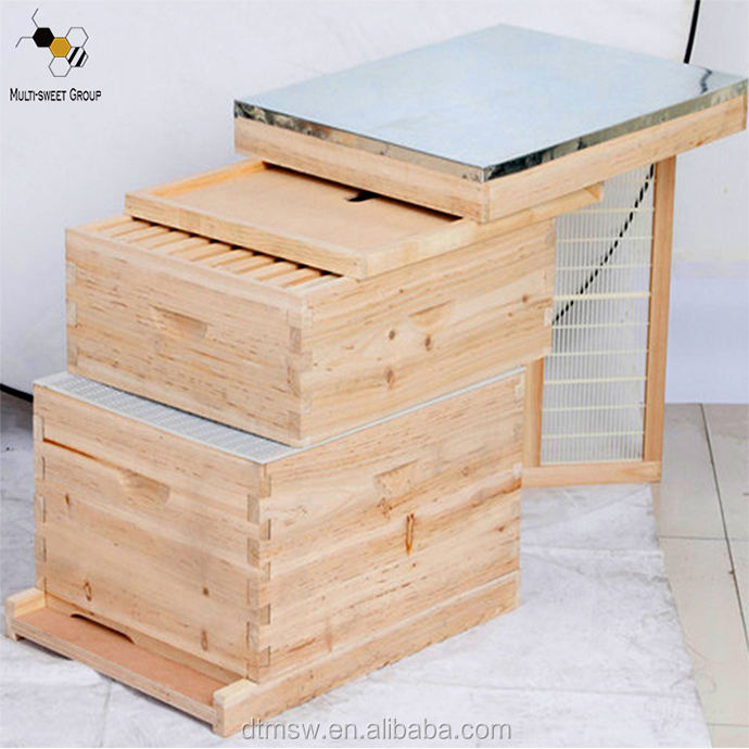 Best selling bee hives beekeeping equipment wooden bee hive