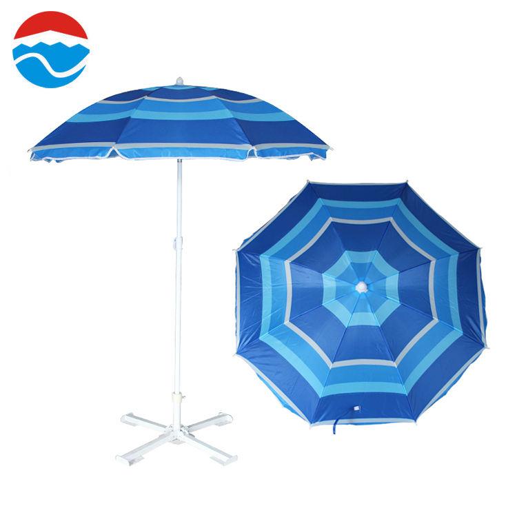 136*8 K blu della banda di colore ombrello piante