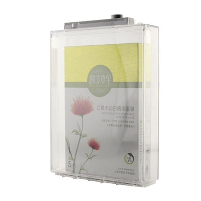 EAS alarm anti-theft Double Battery Safer Box CD/DVD/Cosmetic/battery/Chocolate safer box anti-theft