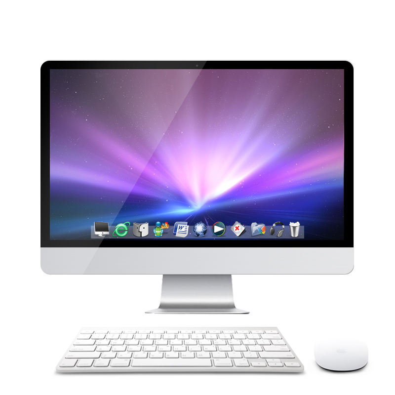 21.5 inch full HD Core i5 desktop laptop computer all in one pc
