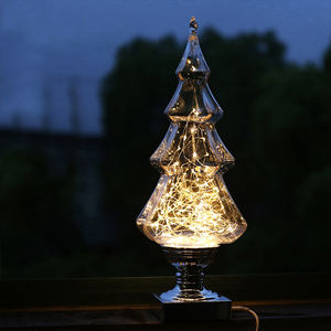 Xmas tree home decor decorations present Christmas gifts led battery copper wire string light