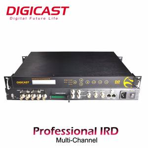 Satelit Demodulator HD/SD MPEG2/H.264 Decoding DVB-S S2 Receiver Decoder Tuner HD Serta SDI HD CVBS keluar IRD