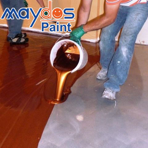 Maydos Metallic Epoxy Kleur Zand 3D Floor Coating