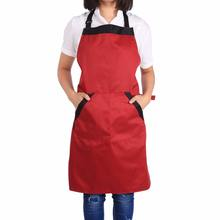 black men women dress with pockets apron Kitchen Apron Gift mother polyester Restaurant Kitchen  Apron