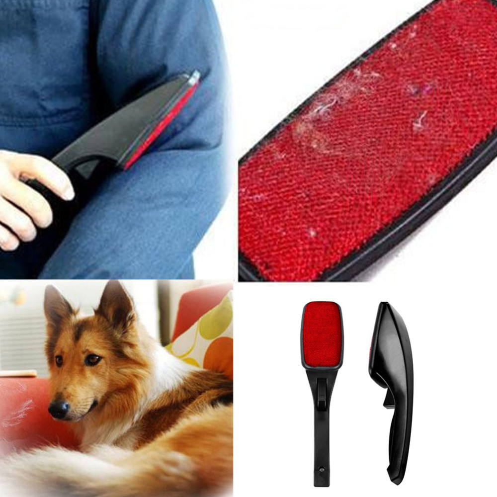 Static Brush Clothes Magic Lint Dust Brush Pet Hair Remover Clothing Cloth Dry Cleaning with Rotatable Brush Wholesale