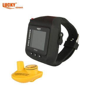 JINHUA FF-518 WRIST WATCH Wireless 45M sonar fishing finder CLOCK Mode Fish Detector Multi Language deep water for