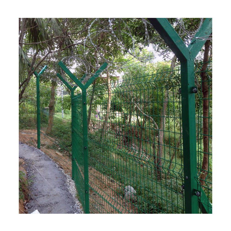 welded 3d curved wire mesh fence Welded Garden Fence Panels