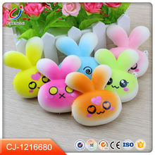 Factory wholesale soft 3D animals toy anti stress mochi squishy