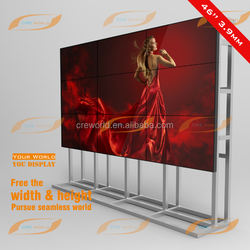 floor standing 49 inch ultra narrow bezel led video wall price