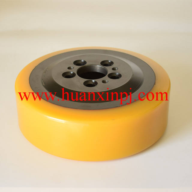 Jungheinrich/EP/Noblift Electric Forklift Suitable Polyurethane Coated Motor Drive Wheels 230*75/82*45mm