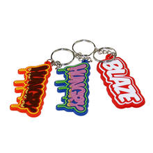 Promotional Gifts Custom Rubber PVC Key Rings
