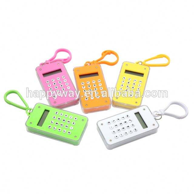 Personalized Promotional Calculator MOQ100PCS 0702035 One Year Quality Warranty