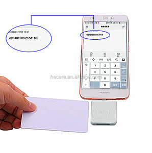 UHF RFID android mobile phone smart card reader with USB interface